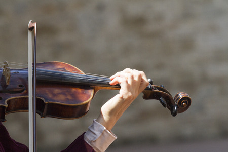 playing the violin photo