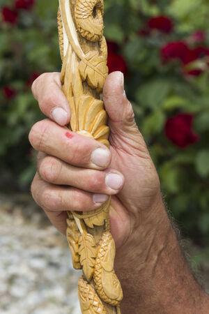 carver: craftsman carver Stock Photo