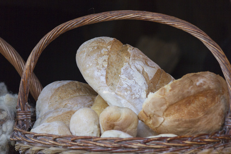 bread in the basket photo