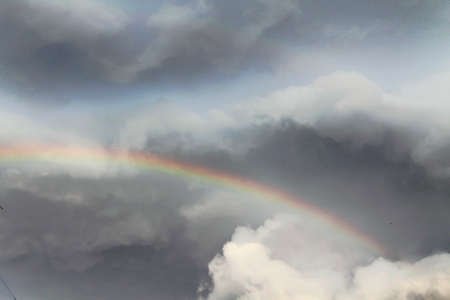 rainbow sky: rainbow in the sky