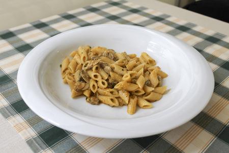 macarrones: macarrones con almejas