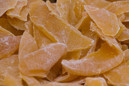 candied: candied oranges
