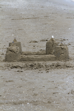 sandcastles: sandcastles on the beach