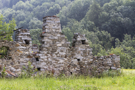disused: disused house in the mountain