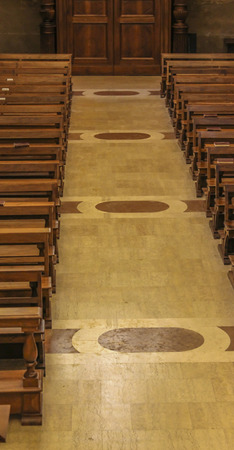 pews: pews in church