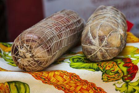 viands: italian salami