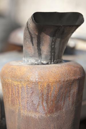 smokestack: old smokestack tractor