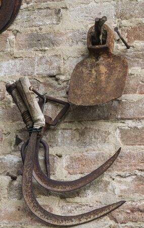 old tools: old tools