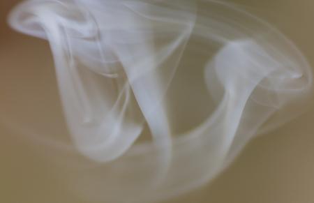 fume: lit incense smoking Stock Photo