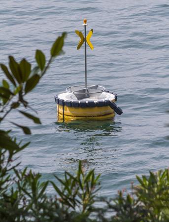 buoy: buoy on  lake
