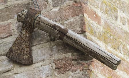 ax: old ax Stock Photo