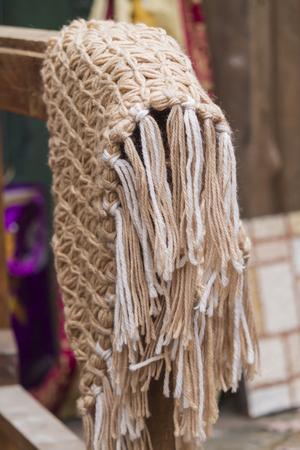workwoman: knitting workwoman