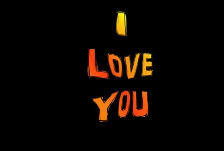 feel feeling: i love you