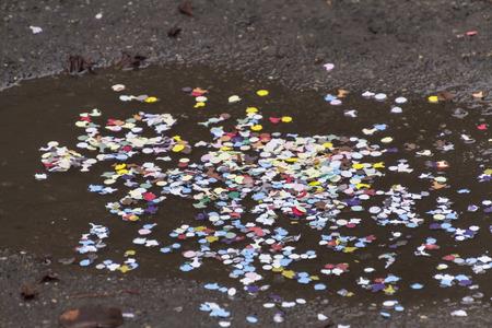 serpentinas: confeti y serpentinas en el carnaval