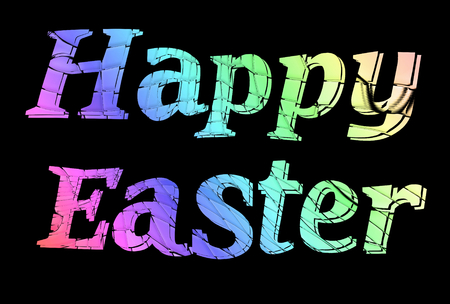 recurrence: Happy Easter Stock Photo