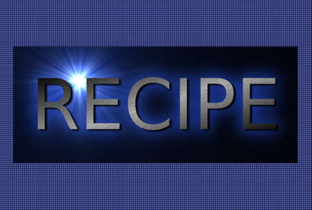 recipe background: recipe background Stock Photo
