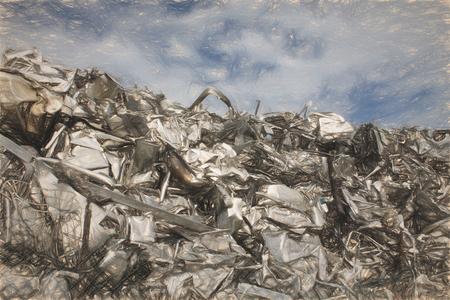 ferraille: scrap metal
