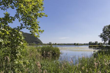 landscape lake Archivio Fotografico