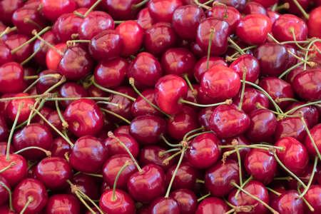 ripe: ripe cherries Stock Photo