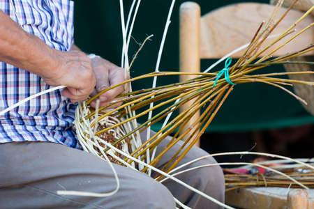 builds: craftsman who builds basket