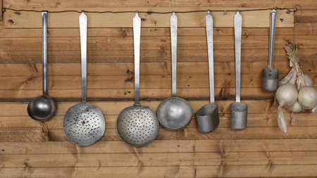 ladles: ladles in the kitchen
