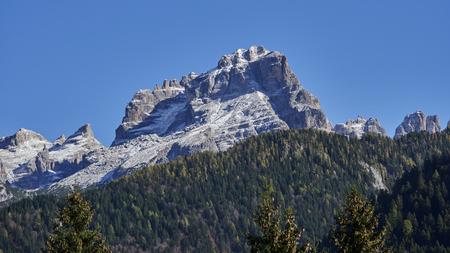 brent: dolomiti del brenta mountain landscape Stock Photo