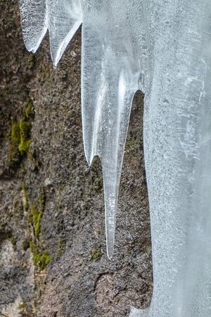 ice in the mountain Imagens