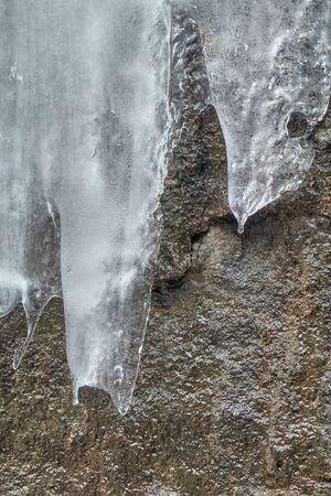 ice in the mountain Archivio Fotografico