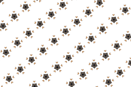 kaleidoscope modern elegant pattern background