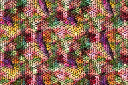 abstract modern mosaic for background