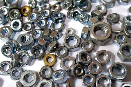 standard steel: nuts