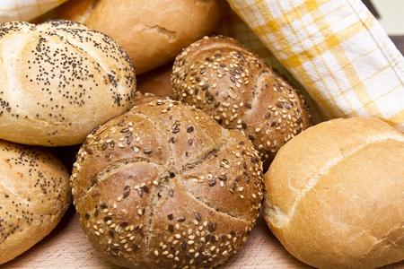 Breakfast buns