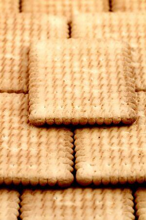 Tea biscuit Stock Photo