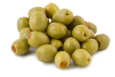 Green Olives Stock Photo