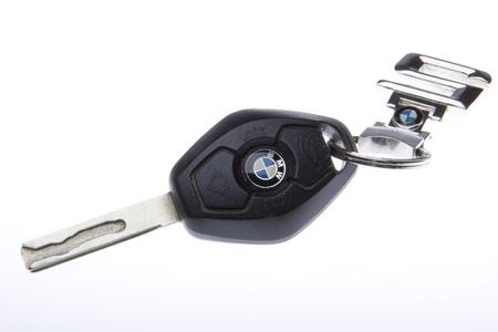 BMW E63 key with original chain