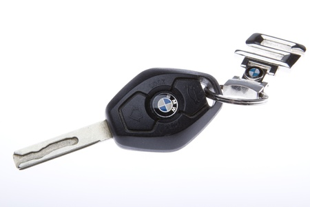 BMW E63 key with original chain