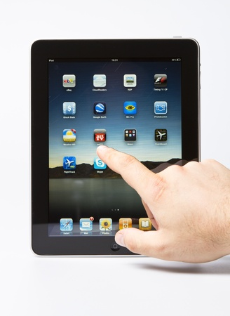 Apple iPad  editorial studio shot