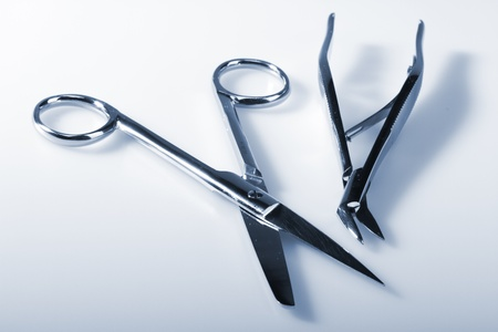 Surgical instruments cyanotope picture studio shot