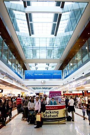 Dubai International Airport terminal Editorial