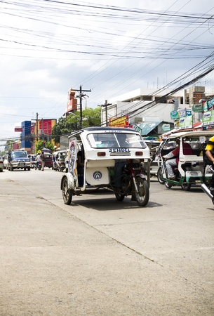 motorizado: Triciclo motorizado en Filipinas