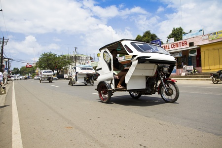 Motorized tricycle in Philippines