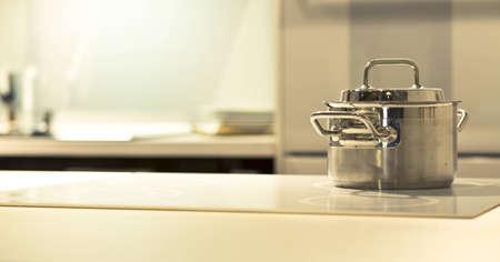 Kitchen stove - modern kitchen