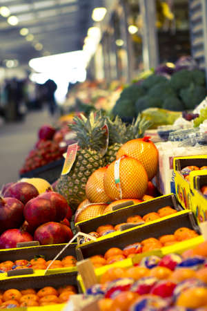 Fruit and vegetable market - open space