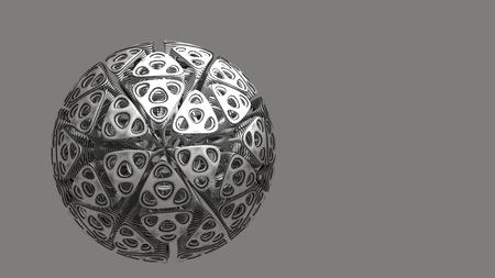 Artificial Cyborg Cell Stock Photo
