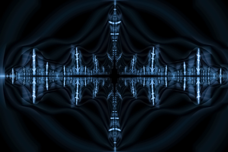 Quantum Waves - Abstract Illustration