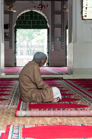 aisa: DHAKA,BANGLADESH - APRIL 24: Hussaini Dalan on April 24, 2015 in Dhaka,Bangladesh. Hussaini Dalan was built in the seventeenth century as the house of the religious leader of the Shia Islam.  It was built as the Imambara or house of the imam (religious le