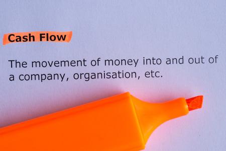 cash flow: cash flow