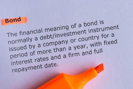 bond: bond