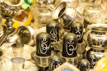 vedic: Black and White Om Symbol in the shop