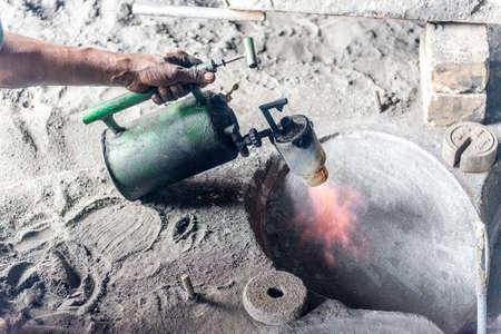 dhaka: DHAKA, BANGLADESH - Local workers are working to repair ships in dockyard in Dhaka, Bangladesh